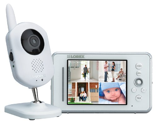 Lorex LW2400 LIVE Wireless Video Home Monitor (White)