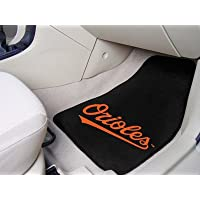 Major League Baseball Baltimore Orioles 2-piece Carpeted Car Mats 18