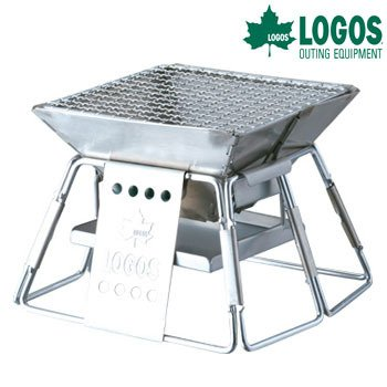 Japanese-Outdoor-Brand-LOGOS-Compact-BBQ-Grill-for-Small-Patio-Import-JAPAN
