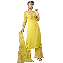Fashion Bucket Yellow colored suit.