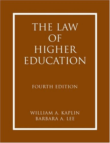 The Law of Higher Education 2 Volume-set