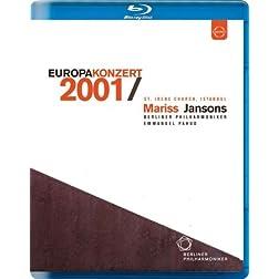 Europakonzert 2001 from Istanbul [Blu-ray]