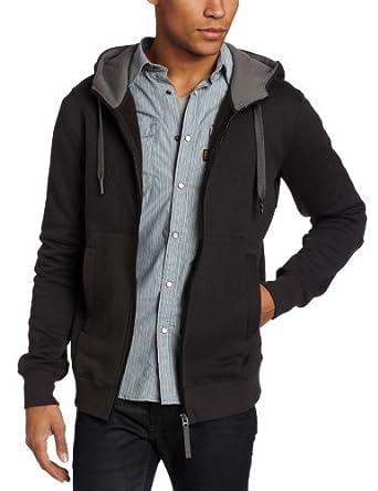 (暴跌)G-Star 型男混纺时尚连帽休闲卫衣 Long Sleeve Sweater$80.51