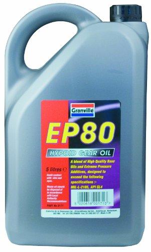 Granville 0171A EP 80 5L Granville Hypoid Gear Oil
