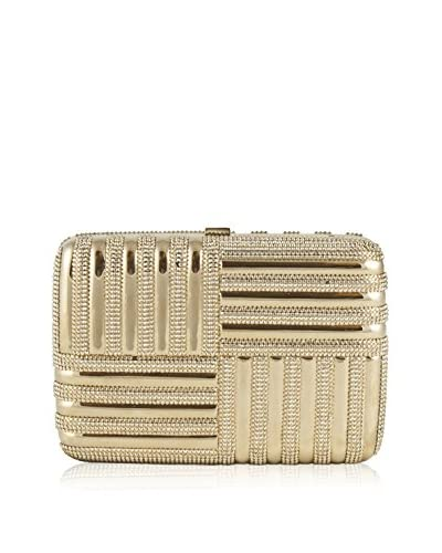 Judith Leiber Couture Women's Striped Rectangle Clutch, Champagne