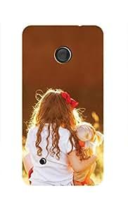 ZAPCASE Printed Back Case for Nokia Lumia 530