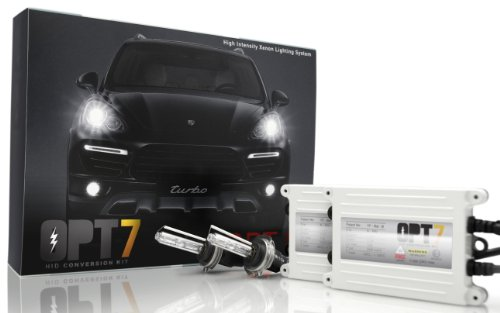 Image of OPT 7 Bolt Ac 55w Hid Xenon Conversion Kit H11 5000k Bright White Light 2 Bulbs 2 Ballasts