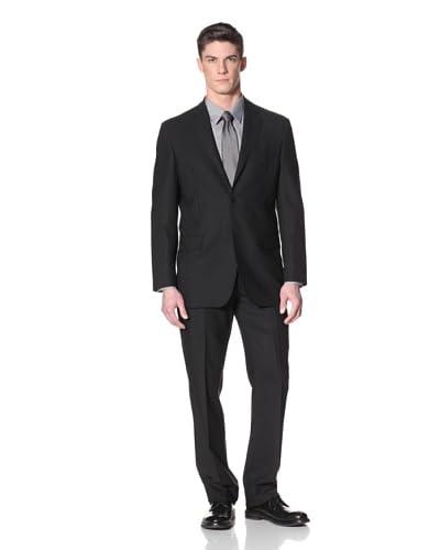 Yves Saint Laurent Men's Pinstripe Suit  [Black]