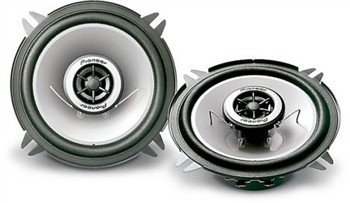 """Pioneer 2-Way 5.25"""" Car Speakers 25W (Rms) 140W(Pmpo) Ts-G1342R"""