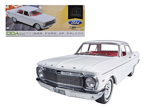 Greenlight DDA003 1965 Ford XP Falcon White 50th Anniversary Limited to 1250 Piece with Certificate of Authenticity 1-18 Diecast Car Model (1965 Ford Falcon Model compare prices)