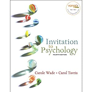 VangoNotes for Invitation to Psychology, 4/e | [Carol Wade, Carol Tavris]