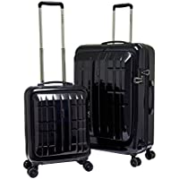 Travelers Club Luggage Flex-File 2-Piece Hardside Dual Luggage Set