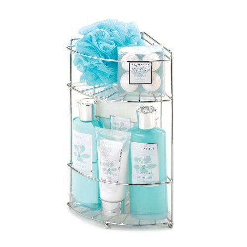 Ocean Oasis Bath Caddy Spa Set (Gift Oasis compare prices)