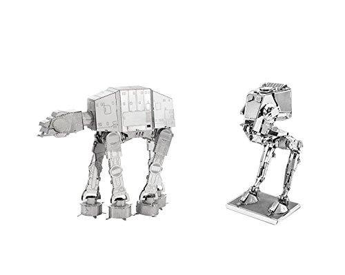 Metal Earth 3D Model Kits Star Wars ATAT and AT-ST - 2pc Set (At At Model compare prices)
