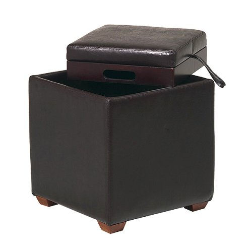 Cheap ottomans and footstools rating review metro for Cheap storage ottomans