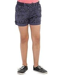 Oxolloxo Girls blue shorts