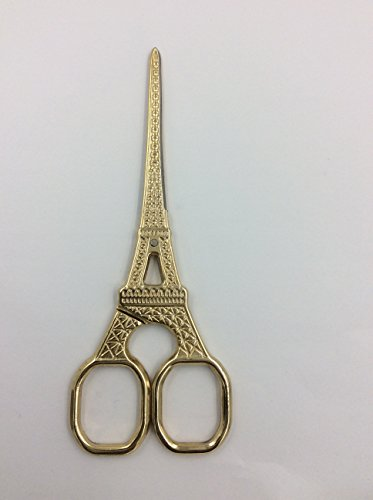 Why Choose M124-002 Designer Embroidery Scissor, 5-1/2-Inch, Eiffel Tower Gold