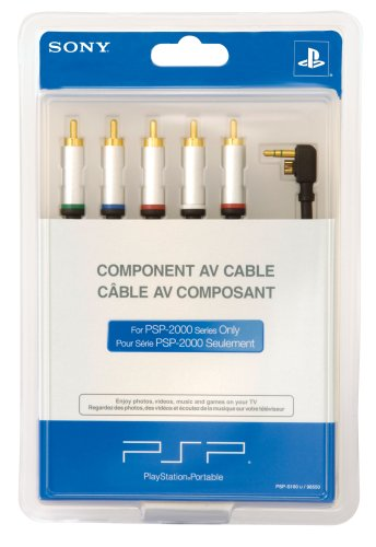 Sony Psp Component Av Cable