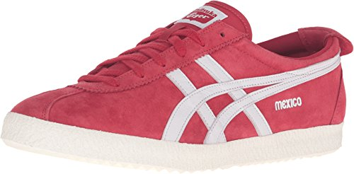 Onitsuka Tiger by Asics Unisex Mexico Delegation Red/White Sneaker Men's 11.5 Medium