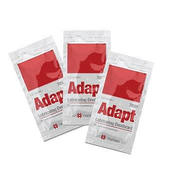 Adapt Lubricating Deodorant 8 ml Packets/Case of 500 packets