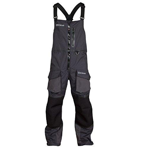 Stormr Men's Fusion Bib, Black, X- Large, Fishing, Fly Fishing & Ice Fishing (Ice Fishing Bibs compare prices)