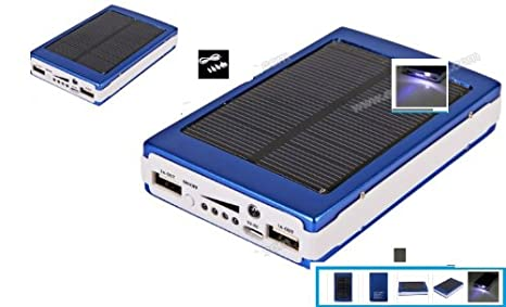 Like have 30000mah Dual USB Portable Solar Panel Power Bank