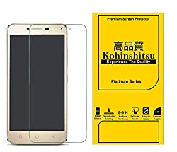 Screen Protector for Lenovo Vibe K5 - Kohinshitsu Tempered Glass Screen Guard for Lenovo Vibe K5 / Lenovo K5 (Pack of 2, Platinum Series)
