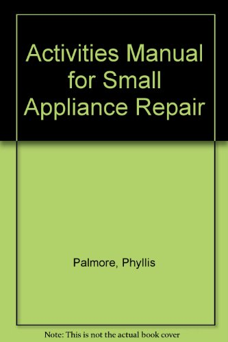 Appliance Repair Manuals