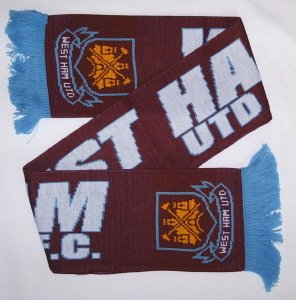 West Ham United FC - Official Scarf