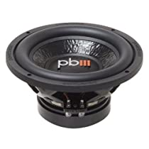 Powerbass M104D 10-Inch Dual 4 Ohm Subwoofer