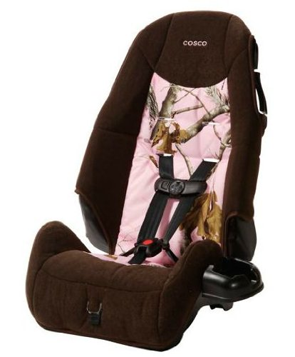 Cosco - High-back Booster Car Seat, Realtree Pink (Camo Booster Seat compare prices)