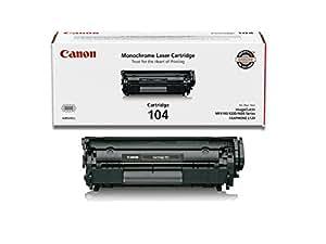 Canon Original 104 Toner Cartridge - Black