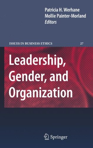 Leadership, Gender, and Organization (Issues in Business Ethics)