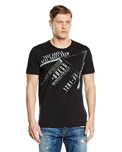 Guess T-Shirt Manica Corta The Crazy One [Nero]