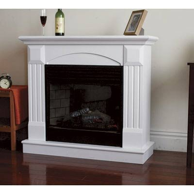 ProCom Deluxe Electric Fireplace With Remote Control - White Finish, Model# SFE24RE6-W
