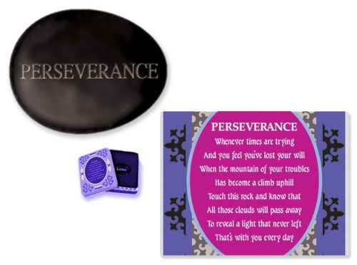 Stones of Sentiment with Tin Box, Perseverance - 1