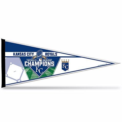 MLB Kansas City Royals 2015 World Series Champion Pennant, Blue, 12 x 30