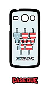 Caseque Summer of 69 Back Shell Case Cover for Samsung Galaxy Core
