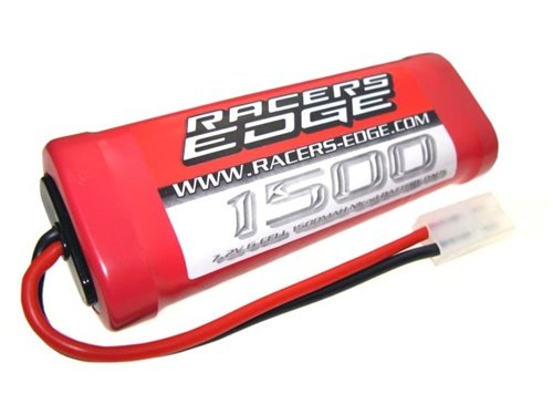 Racer's Edge 7.2V 1500mAh 6 cell NiCd RC Battery Pack