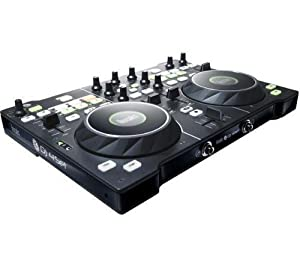 hercules dj4set casque dj g501 contr leur dj usb pour pc et mac avec 2 plateaux d tection. Black Bedroom Furniture Sets. Home Design Ideas