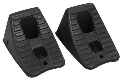 RhinoGear 11930 Tire Hugger Wheel Chock - Set of 2