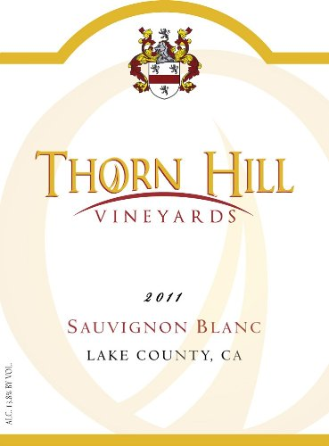 2011 Thorn Hill Vineyards Sauvignon Blanc 750 Ml