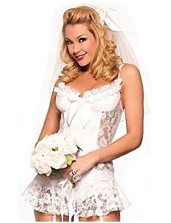 Wedding Bride Fancy Dress Costume
