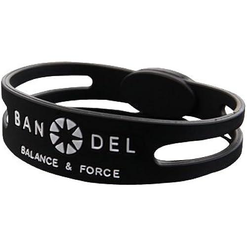 BANDEL 팔찌 슬림 타입 블랙 S 16cm