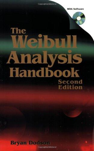 The Weibull Analysis Handbook087389717X : image