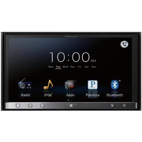 The Amazing Pioneer 7In 2Din Dvd Rcvr
