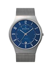 Skagen Mens 233XLTTN Titanium Watch