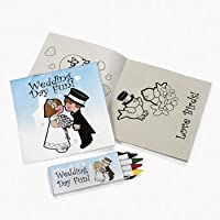 12 Individually Packaged Children's Wedding Activity Sets
