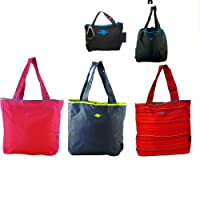 Kiva Convertible Keychain Hide Away Tote Shoulder Bag Purse Handbag Pouch Travel