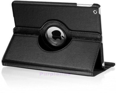 Cazcase PU Leather Rotating Cover Case For Apple Ipad Pro 12.9'' Black